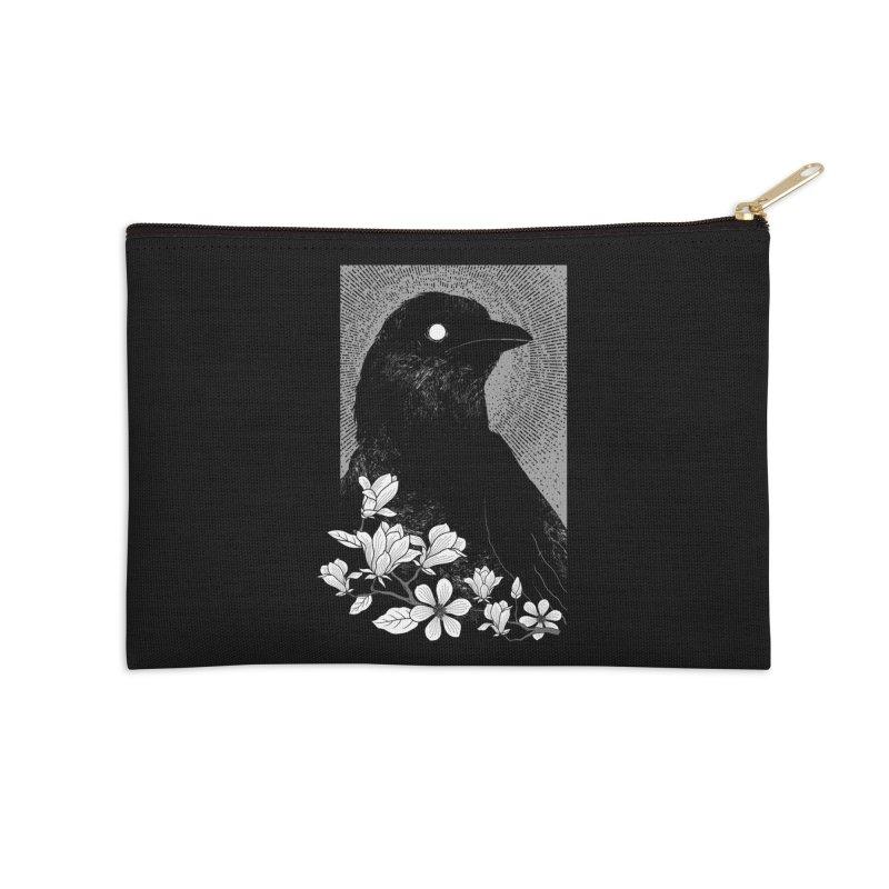 The Raven Accessories Zip Pouch by clingcling's artist shop
