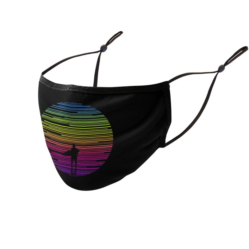 The surfer Accessories Face Mask by clingcling's artist shop