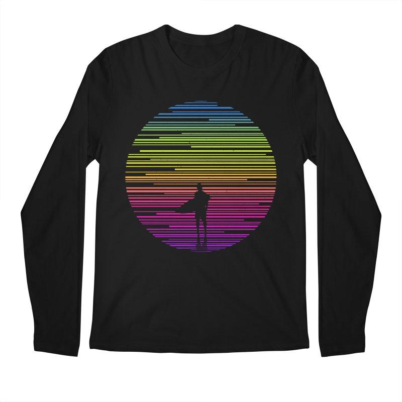The surfer Men's Longsleeve T-Shirt by clingcling's artist shop