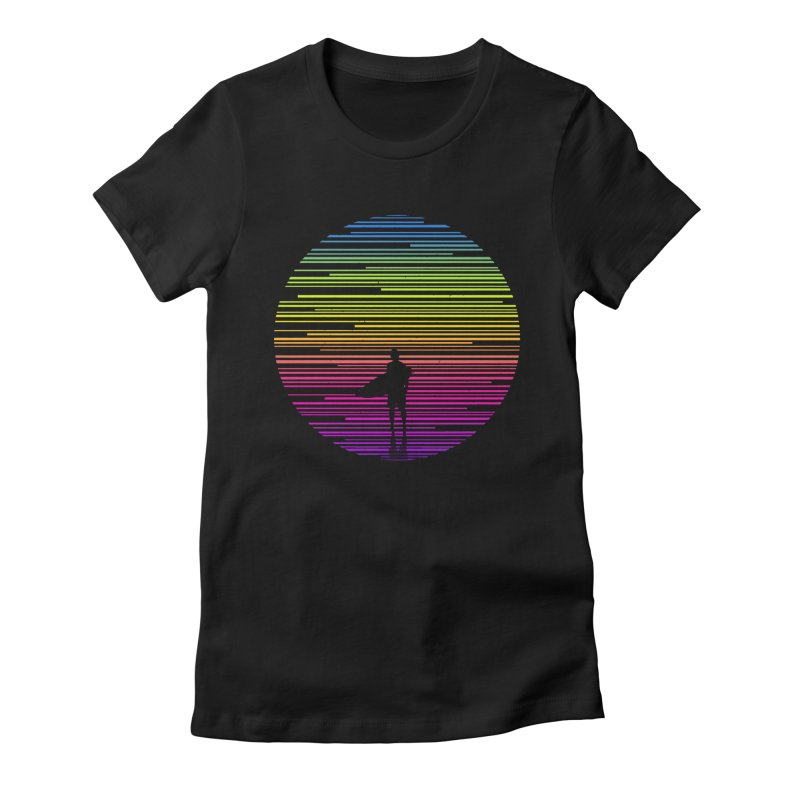 The surfer Women's T-Shirt by clingcling's artist shop