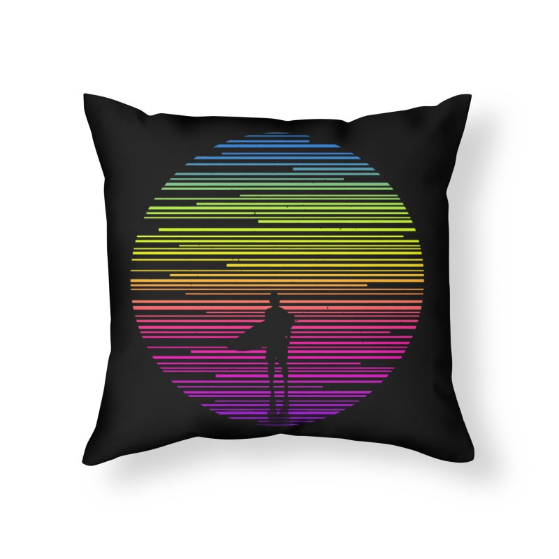 The surfer Home Throw Pillow by clingcling's artist shop