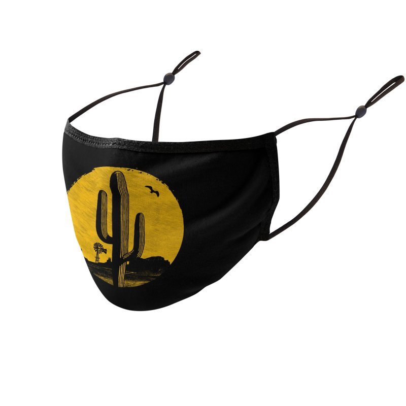 The Western Accessories Face Mask by clingcling's artist shop