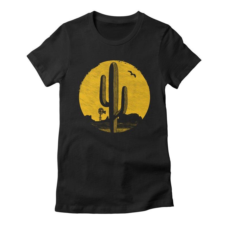 The Western Women's T-Shirt by clingcling's artist shop