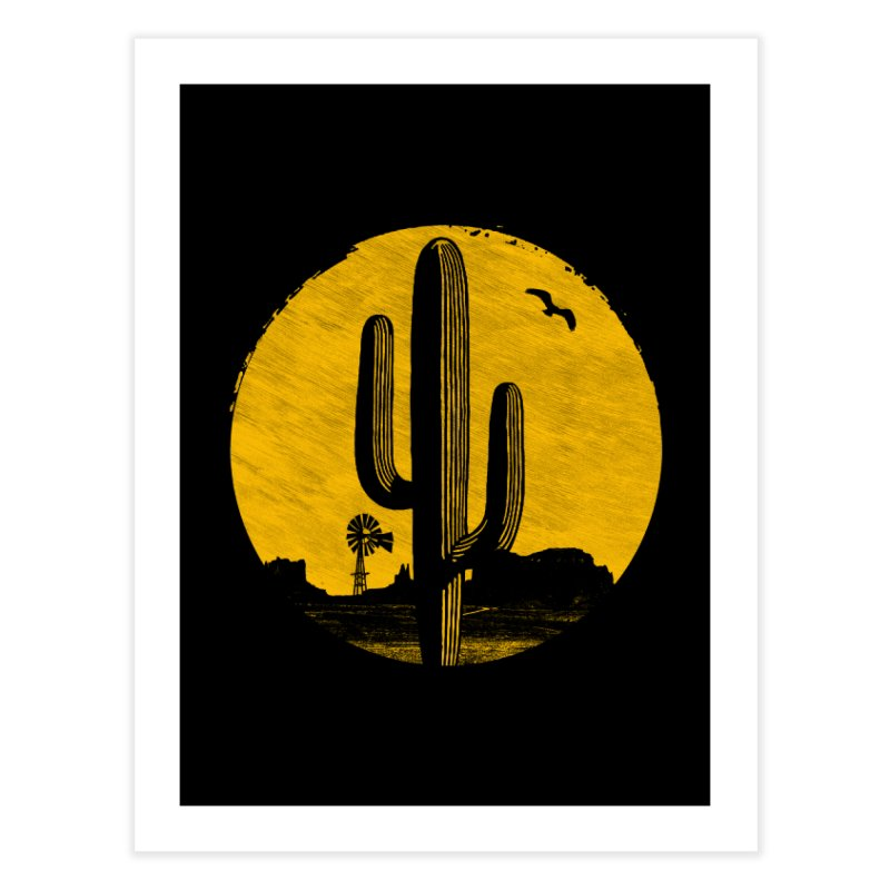 The Western Home Fine Art Print by clingcling's artist shop