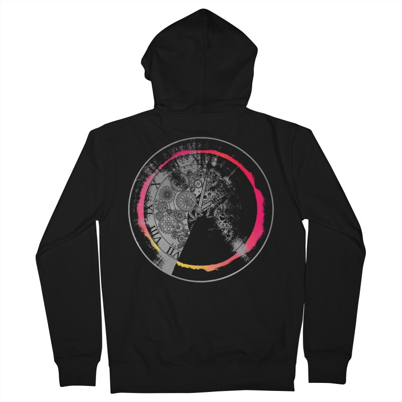 Time Women's Zip-Up Hoody by clingcling's artist shop