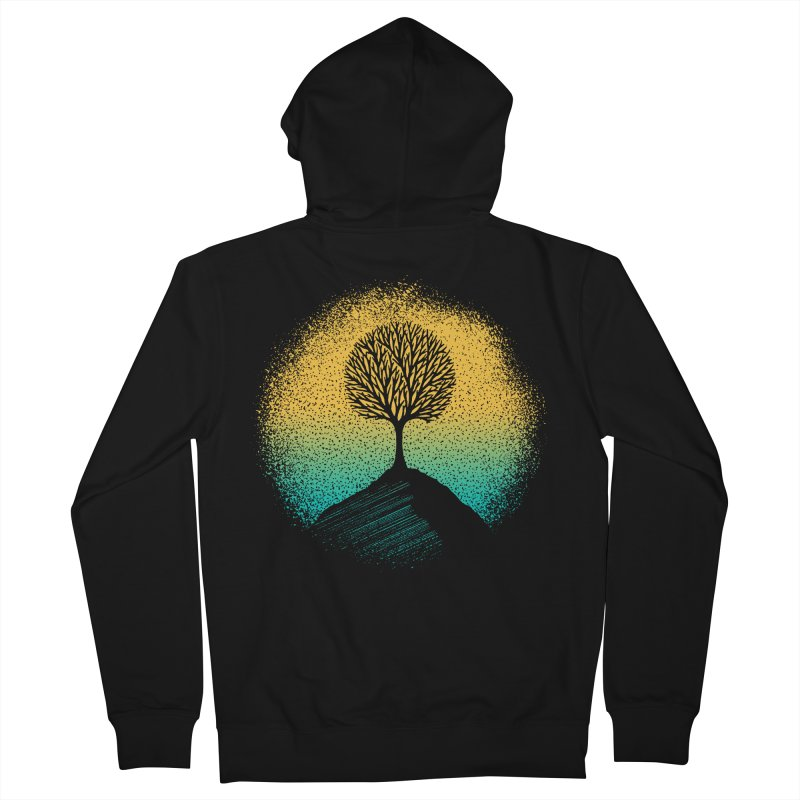 Tree of life Women's Zip-Up Hoody by clingcling's artist shop