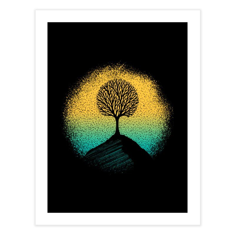 Tree of life Home Fine Art Print by clingcling's artist shop
