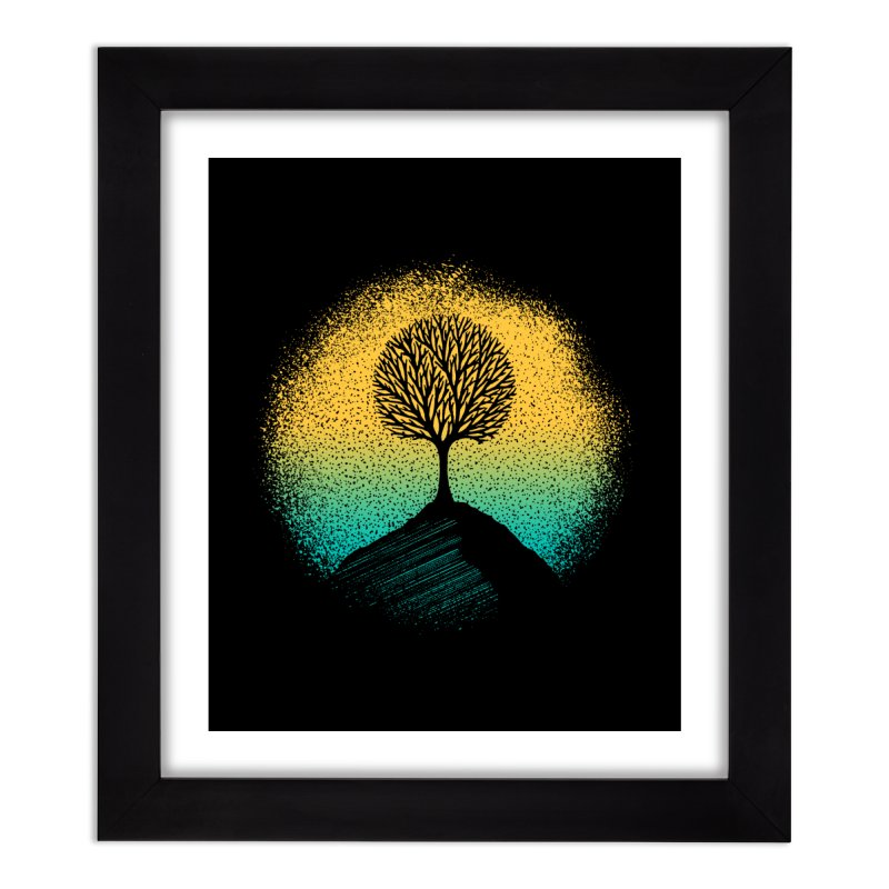 Tree of life Home Framed Fine Art Print by clingcling's artist shop