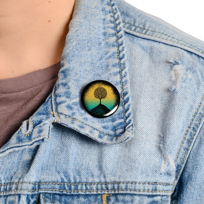 Tree of life Accessories Button by clingcling's artist shop