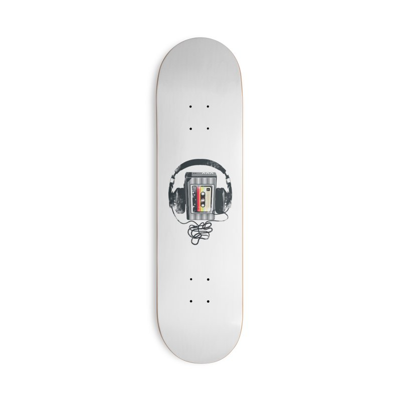 Play Back Accessories Skateboard by clingcling's artist shop