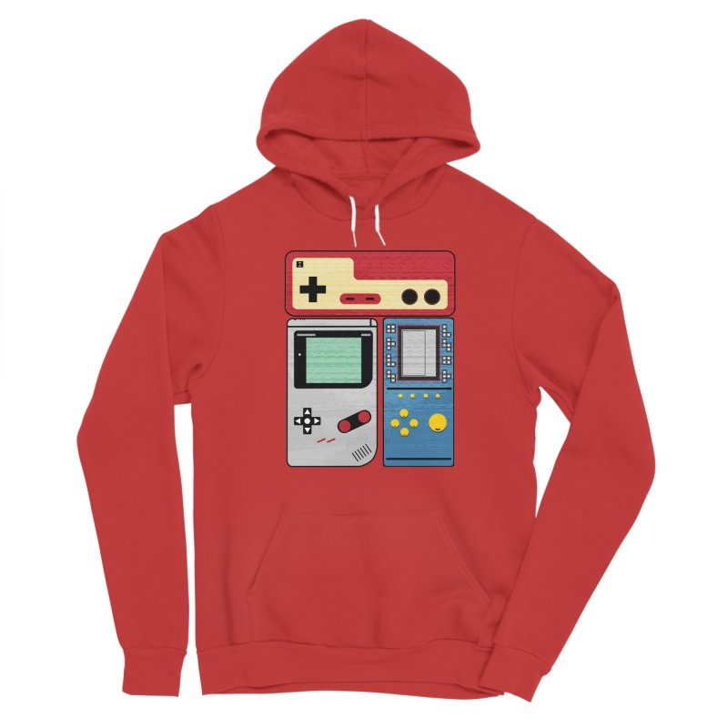 Retro Gamer Women's Pullover Hoody by clingcling's artist shop