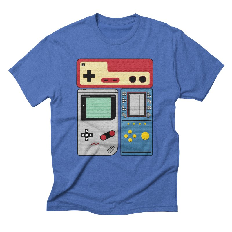 Retro Gamer Men's T-Shirt by clingcling's artist shop