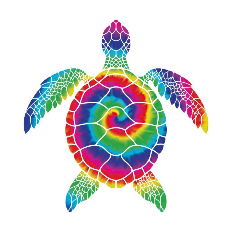 Sea turtle tie dye Men's Tank by clingcling's artist shop