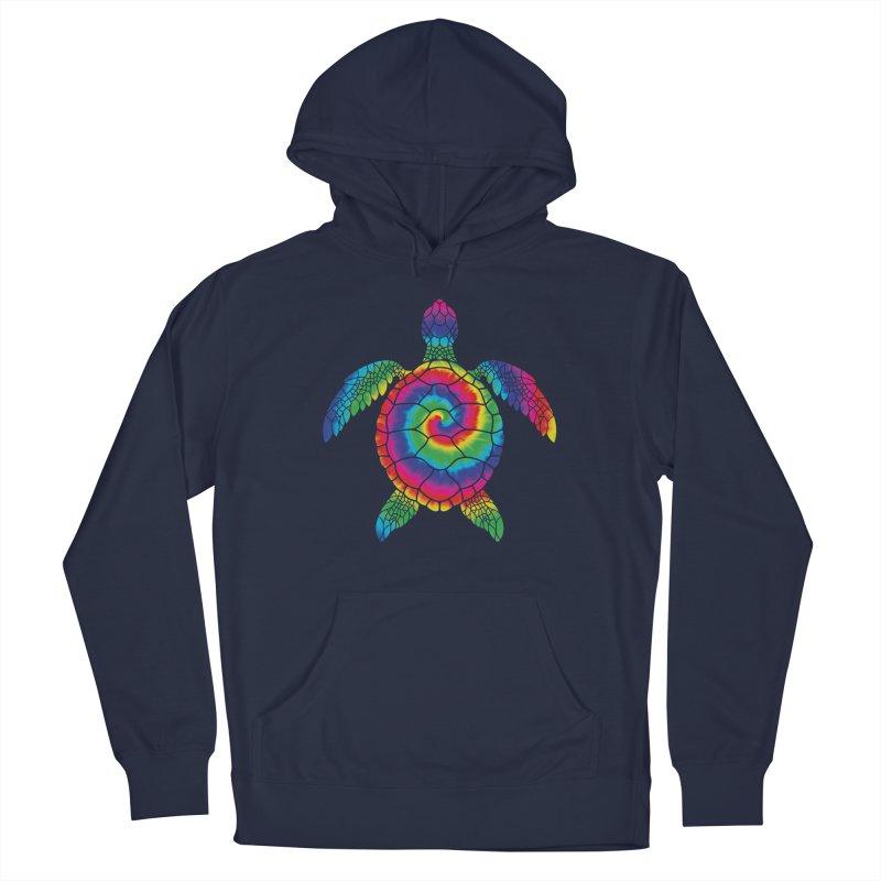 Sea turtle tie dye Men's Pullover Hoody by clingcling's artist shop