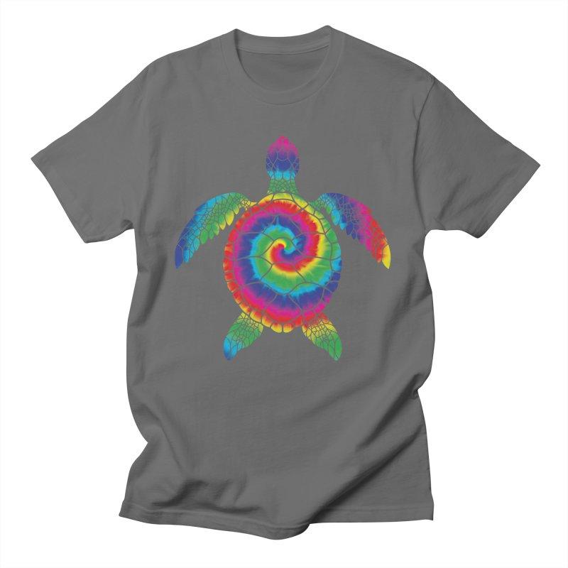 Sea turtle tie dye Men's T-Shirt by clingcling's artist shop
