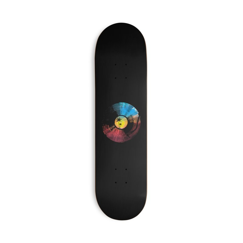 Sound of summer Accessories Skateboard by clingcling's artist shop