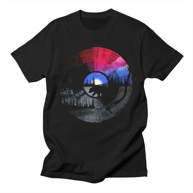 Sound of wilderness Men's T-Shirt by clingcling's artist shop