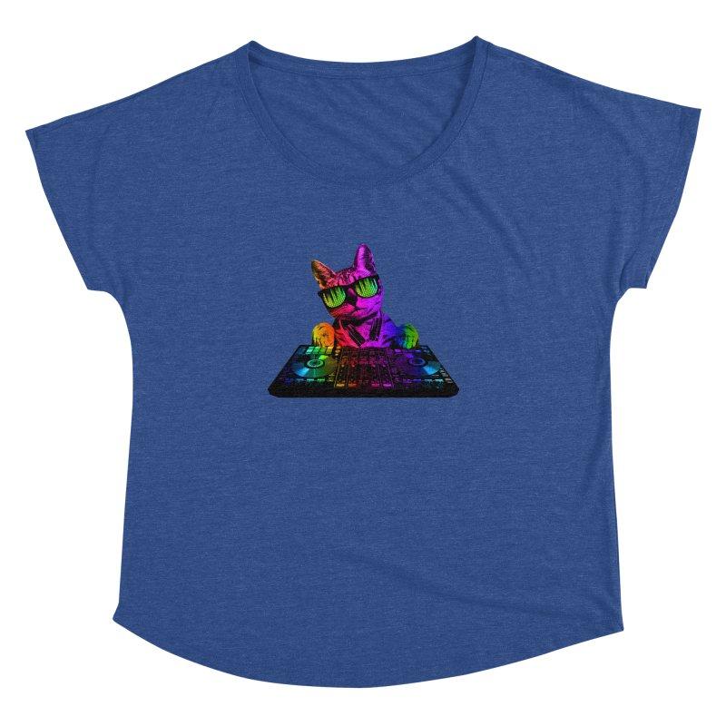 Cool Cat Dj Women's Dolman by clingcling's Artist Shop