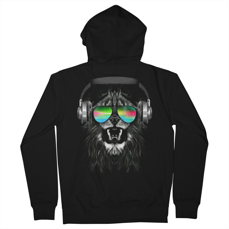 Music Jungle Men's Zip-Up Hoody by clingcling's Artist Shop