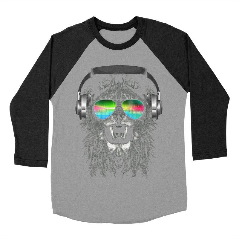 Music Jungle Women's Baseball Triblend T-Shirt by clingcling's Artist Shop