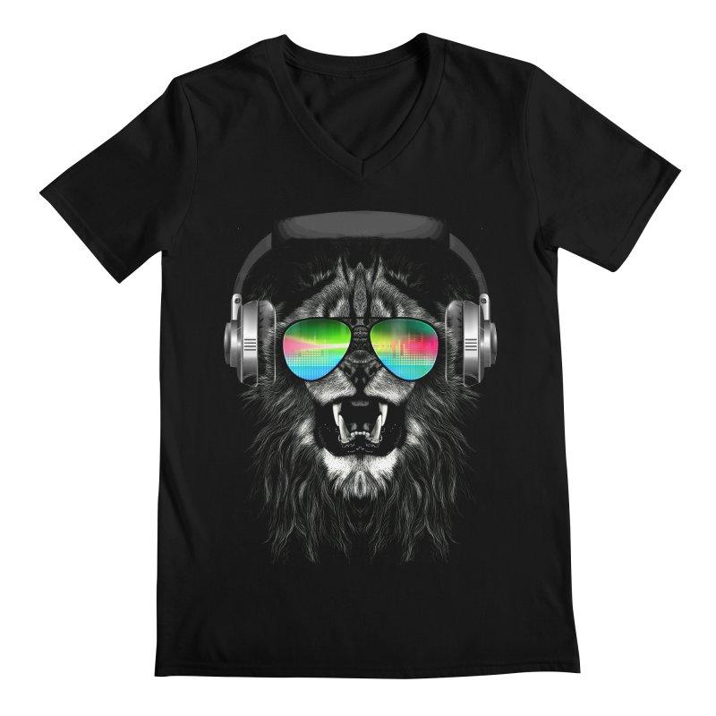 Music Jungle Men's V-Neck by clingcling's Artist Shop
