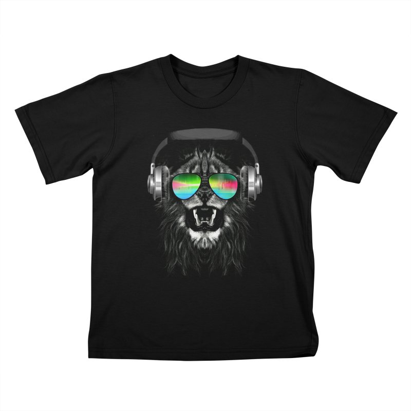 Music Jungle Kids T-Shirt by clingcling's Artist Shop