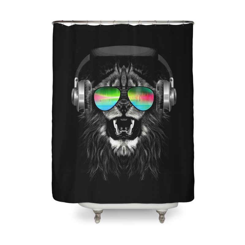 Music Jungle Home Shower Curtain by clingcling's Artist Shop