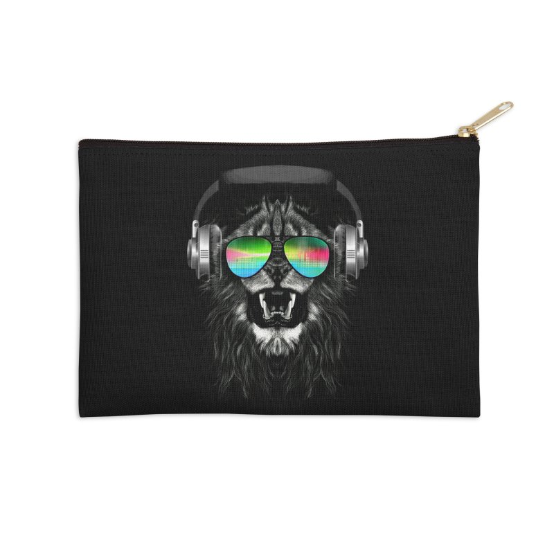 Music Jungle Accessories Zip Pouch by clingcling's Artist Shop