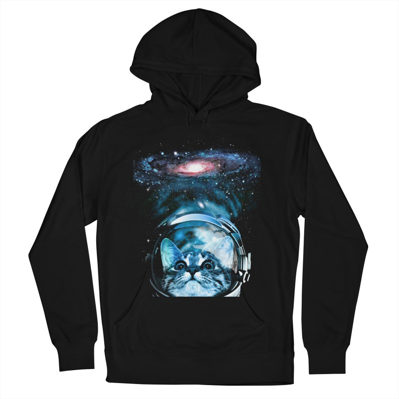 Cosmos Cat V2 Men's Pullover Hoody by clingcling's Artist Shop