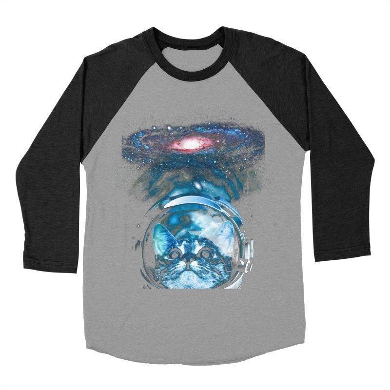 Cosmos Cat V2 Women's Baseball Triblend T-Shirt by clingcling's Artist Shop