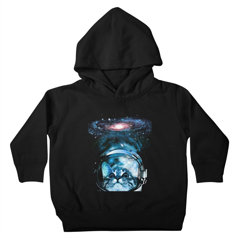 Cosmos Cat V2 Kids Toddler Pullover Hoody by clingcling's Artist Shop