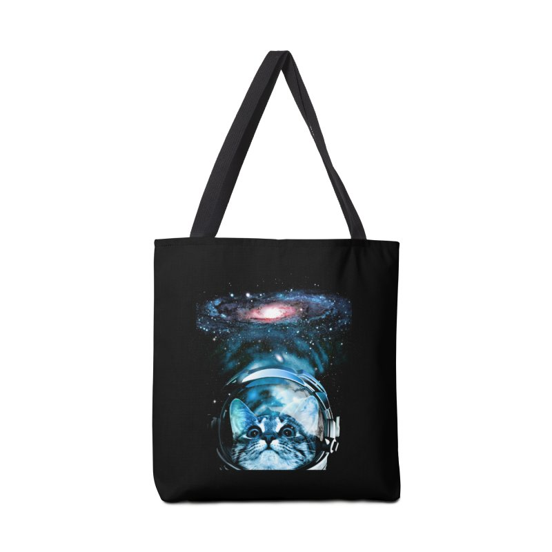 Cosmos Cat V2 Accessories Bag by clingcling's Artist Shop