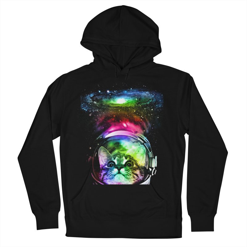Cosmos Cat Men's Pullover Hoody by clingcling's Artist Shop