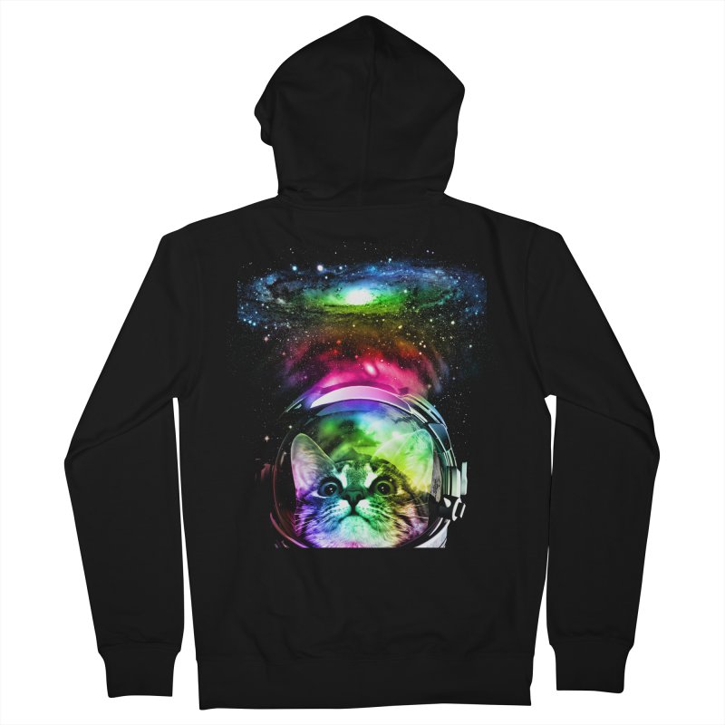 Cosmos Cat Men's Zip-Up Hoody by clingcling's Artist Shop