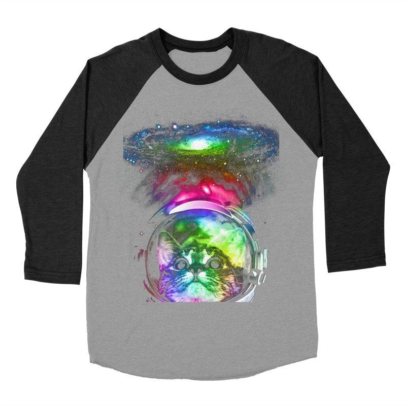 Cosmos Cat Women's Baseball Triblend T-Shirt by clingcling's Artist Shop