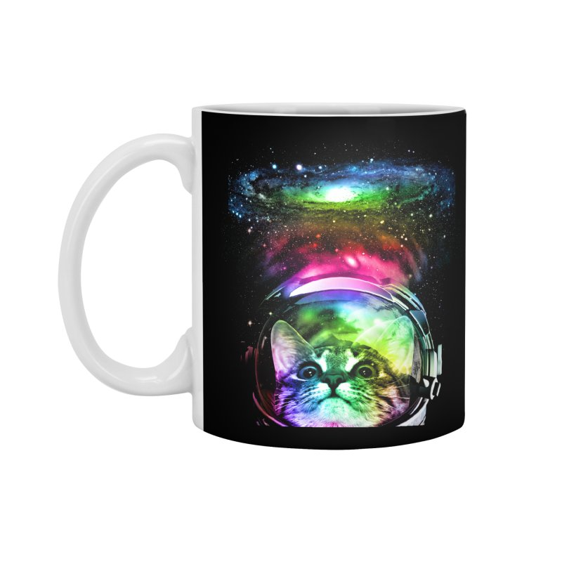 Cosmos Cat Accessories Mug by clingcling's Artist Shop