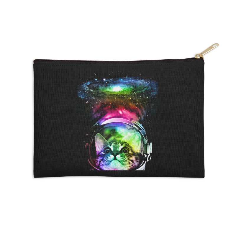 Cosmos Cat Accessories Zip Pouch by clingcling's Artist Shop