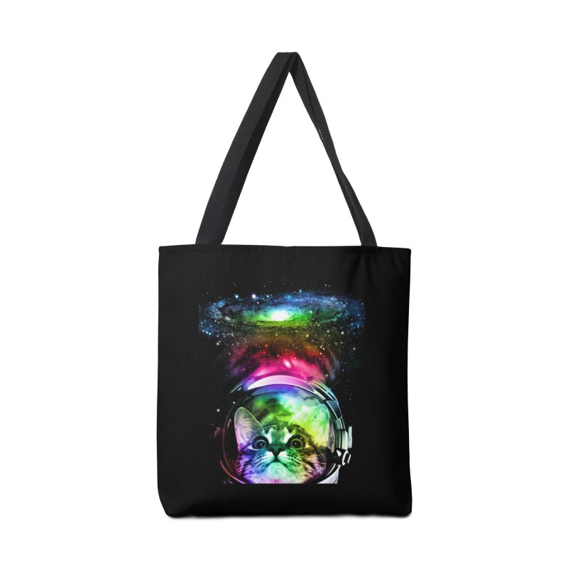Cosmos Cat Accessories Bag by clingcling's Artist Shop