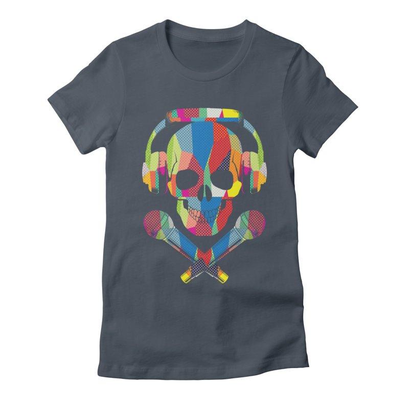 Retro Skull Women's Lounge Pants by clingcling's Artist Shop