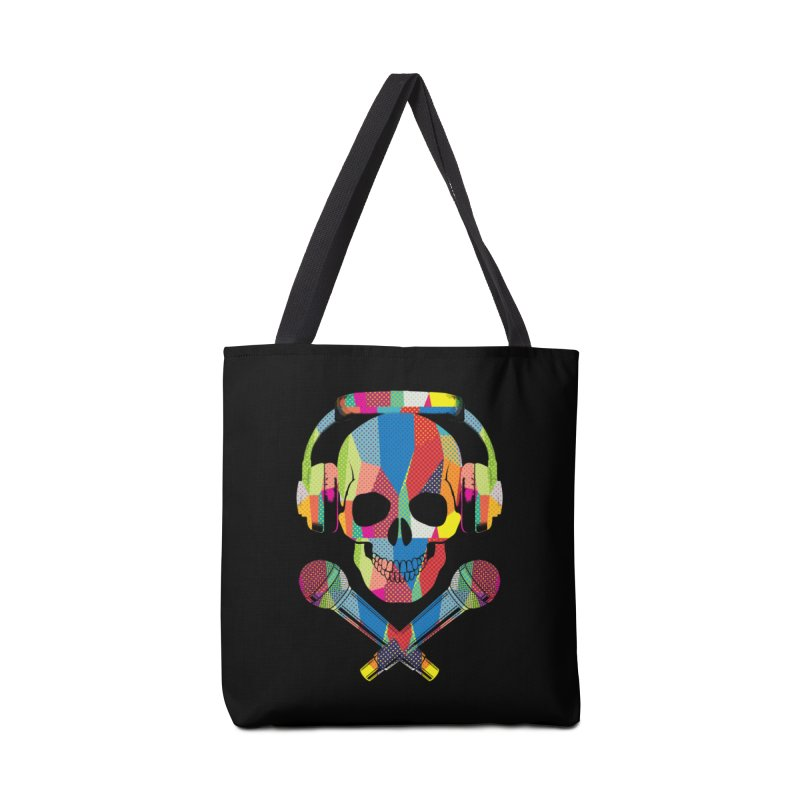 Retro Skull Accessories Bag by clingcling's Artist Shop