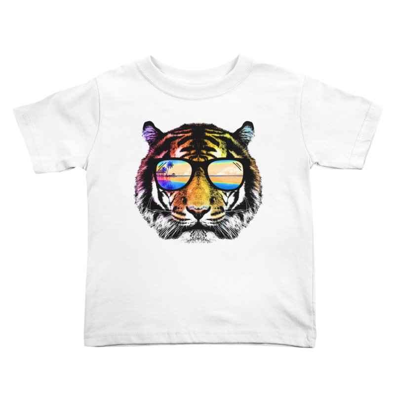 Summer Tiger Kids  by clingcling's Artist Shop