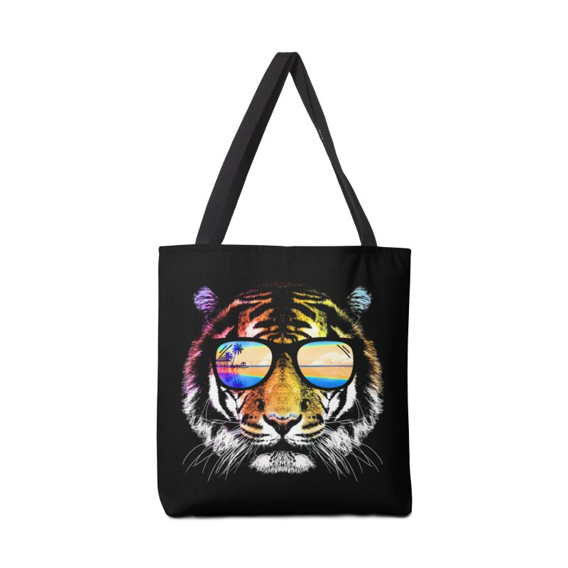 Summer Tiger Accessories Bag by clingcling's Artist Shop