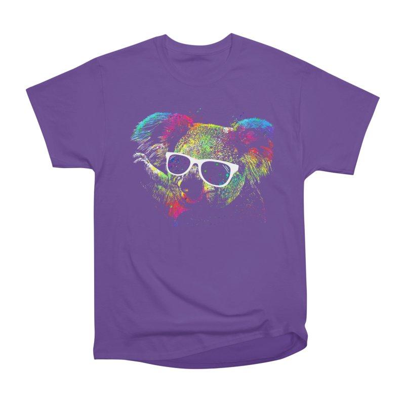 Colorful Koala Men's Heavyweight T-Shirt by clingcling's Artist Shop