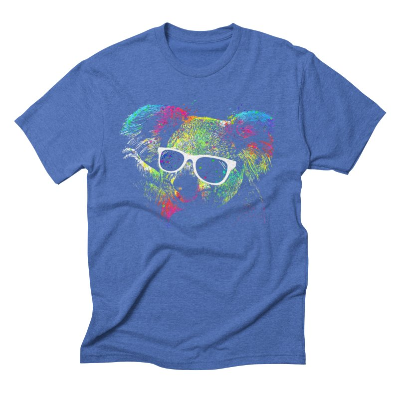 Colorful Koala Men's Triblend T-Shirt by clingcling's Artist Shop