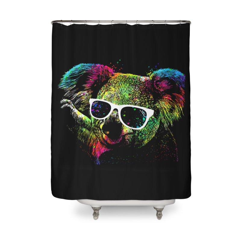 Colorful Koala Home Shower Curtain by clingcling's Artist Shop