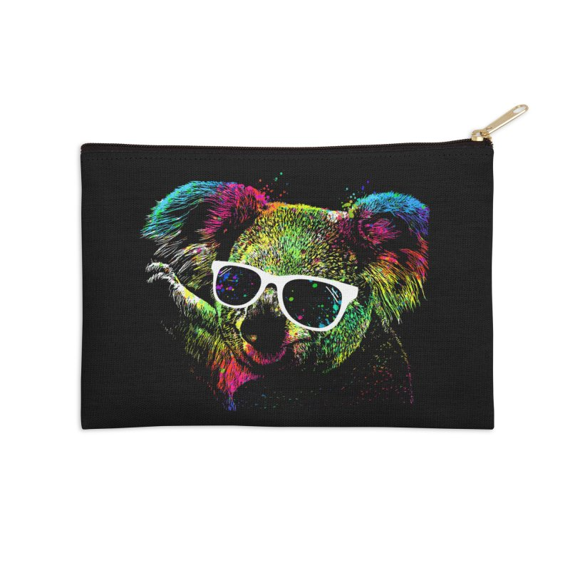 Colorful Koala Accessories Zip Pouch by clingcling's Artist Shop