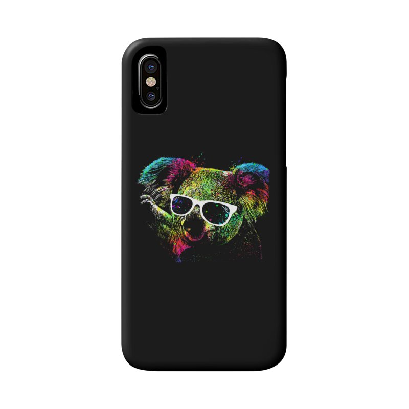 Colorful Koala Accessories Phone Case by clingcling's Artist Shop