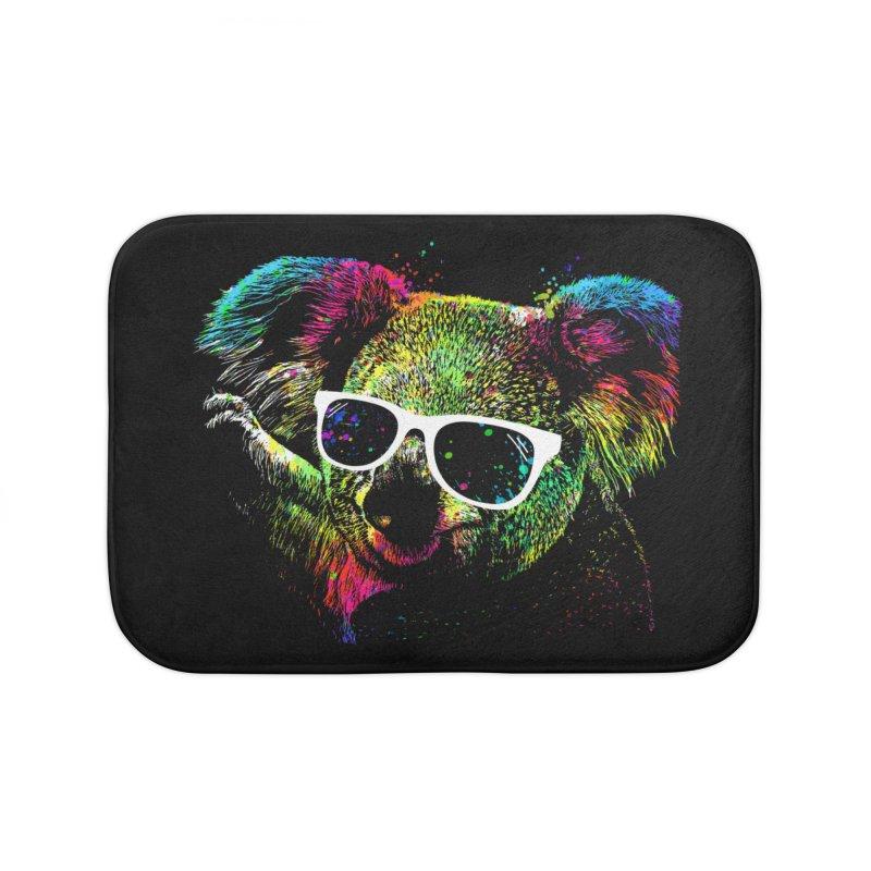 Colorful Koala Home Bath Mat by clingcling's Artist Shop