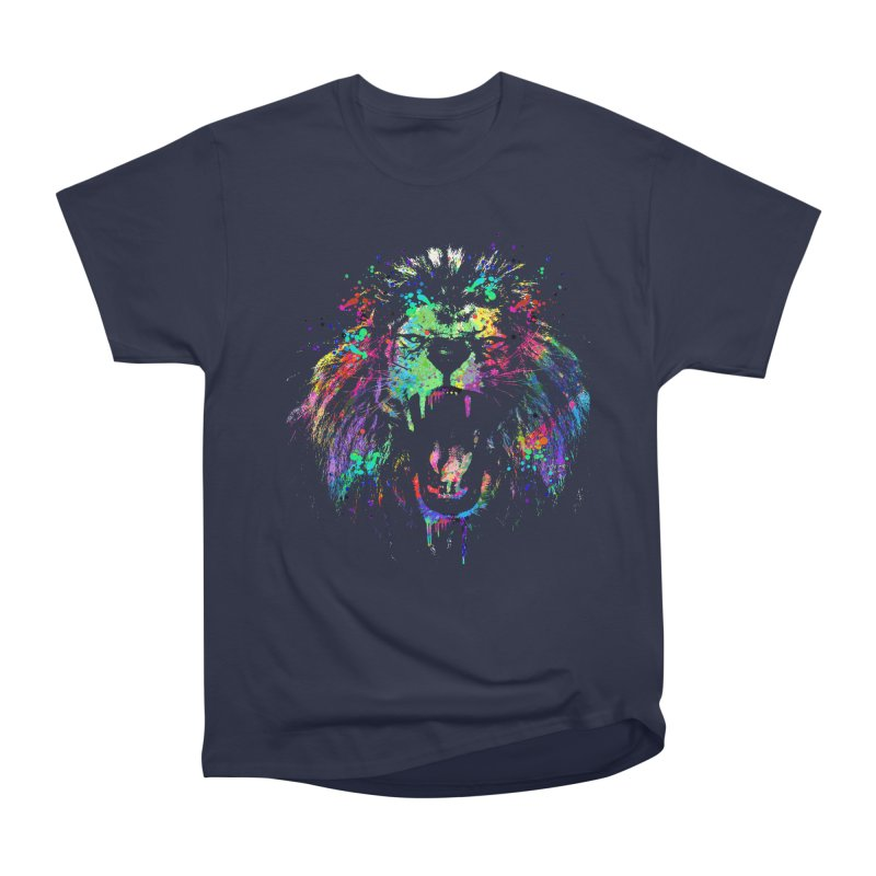 Dripping color lion Men's  by clingcling's Artist Shop
