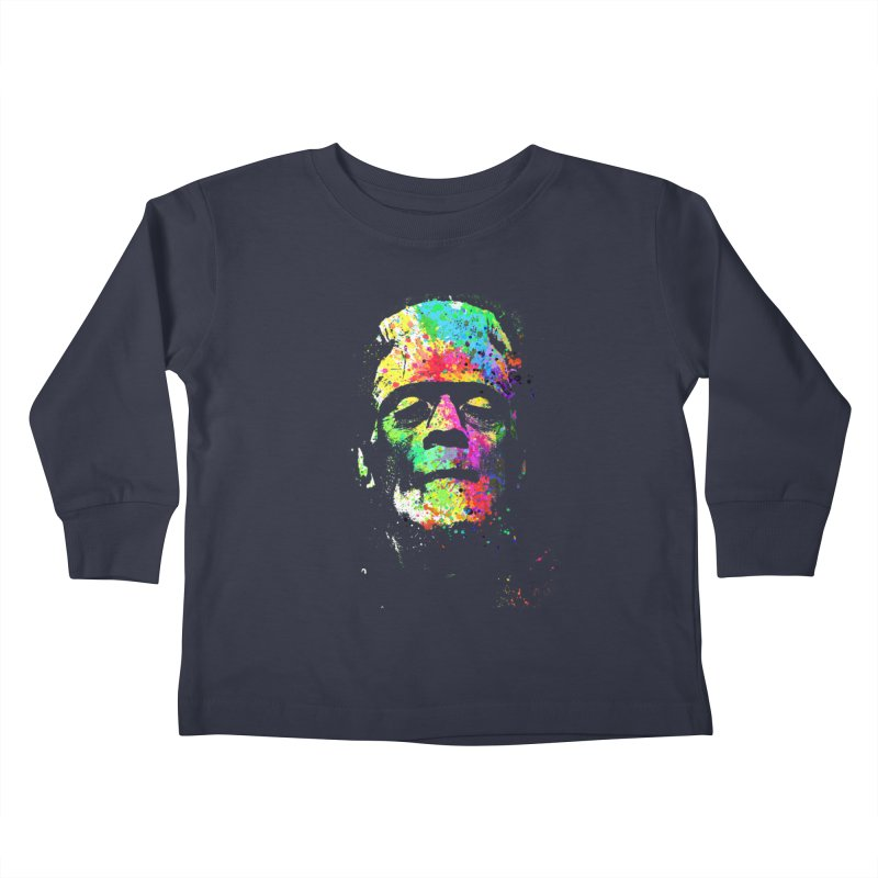 Dripping color frankenstein Kids  by clingcling's Artist Shop